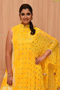 Shyamala in Yellow Dress