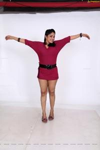 Blood Heroine Avanika in Short Pink Frock