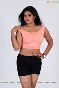 Actress Tanusha in Pink Top