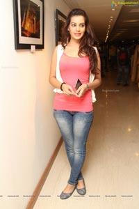 Diksha Panth @ Hyderabad Metro Exhibition
