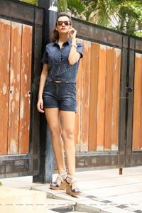 Diksha Panth in Short Jeans