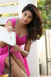Sharon Fernandes Pink Gown