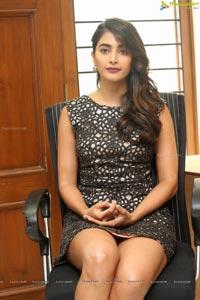 pooja-hegde-black-slip-dress
