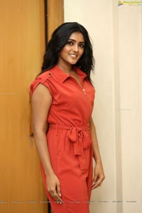 Eesha Rebba in Red Jump suit