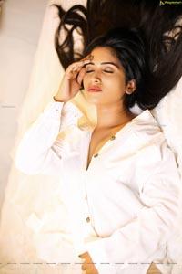 Sravanthi Chokavarapu Slaying in White