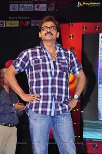 Venkatesh at Naa Ishtam Audio Release
