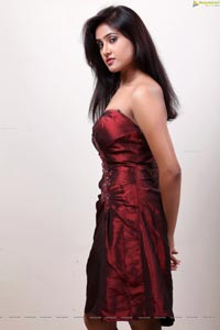 Sony Charishta in Shoulder Gown
