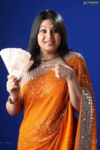 Sangeetha in Zee Telugu Bindaas