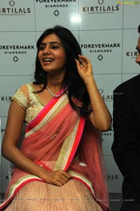 Samantha in Pink Saree
