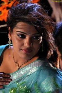 South Indian Heroine Tashu Kaushik in Saree