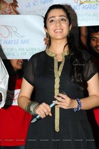 Charmme at Prathighatana Audio Release