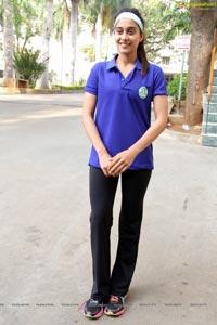 Regina at Glaucoma Awareness Walk