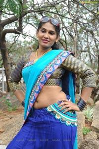 Telugu Actress Shyamala Hot Pics