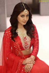 Rashi Khanna Red Dress