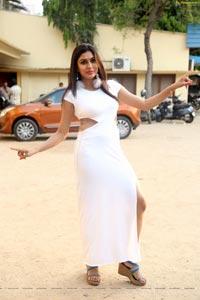 Sai Akshatha White Dress