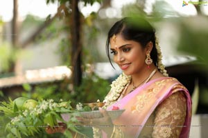 Karunya Chowdary Ugadi Photo Shoot