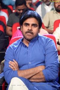 Pawan Kalyan at Katamarayudu Pre-Release Function
