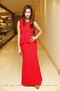 Rraxshmi Thakur Red Dress