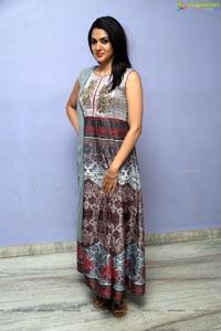 Actress Sakshi Chowdary