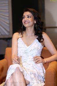 Kajal Aggarwal Photo Gallery at MLA Interview
