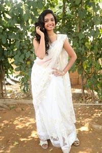 Meghna Mandumula in Saree