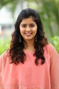 Amritha Aiyer at 30 Rojullo Preminchadam Ela Press Meet