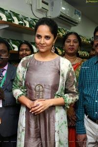 Anasuya at Country Mall Launch at Khairtabad