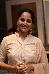 Anasuya Bharadwaj at O Pitta Katha Pre-Release
