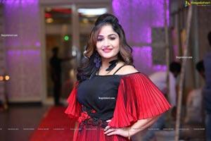 Madhavi Latha at Sthri Grand Fashion Show