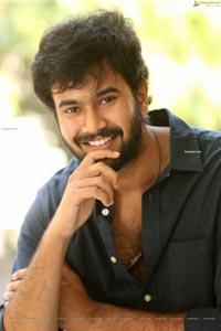Rahul Vijay at College Kumar Interview