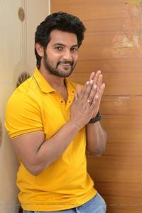 Aadi Saikumar at Sashi Movie Interview