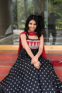 Ananya Nagalla at Playback Movie Success Meet