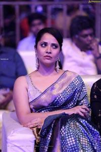 Anasuya Bharadwaj at Chaavu Kaburu Challaga Pre-Release