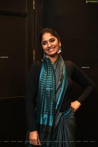 Jhansi at Wild Dog Movie Pre-Release Event