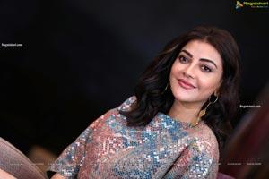 Kajal Aggarwal at Mosagallu Movie Interview