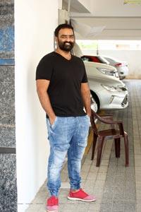 Kaala Bhairava at Thellavarithe Guruvaram Interview