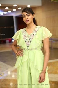 Kamakshi Bhaskarla In Pista Green Dress