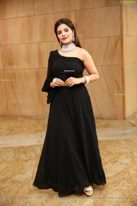 Kusumm in Black Designer Dress