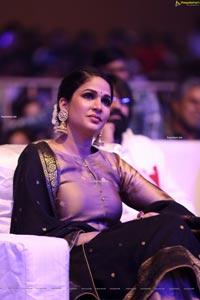 Lavanya Tripathi at Chaavu Kaburu Challaga Movie Event