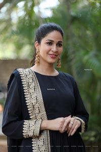 Lavanya Tripathi at Chaavu Kaburu Challaga Audio Launch