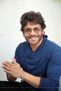 Nagarjuna at Wild Dog Movie Interview
