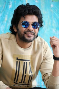 Naveen Polishetty at Jathi Ratnalu Movie Interview
