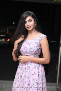 Priya Paul at Vikramarkudu Pre-Release Event