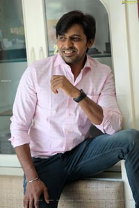 Priyadarshi at Jathi Rathnalu Success Interview