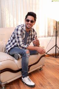 Raj Tarun at Power Play Movie Interview