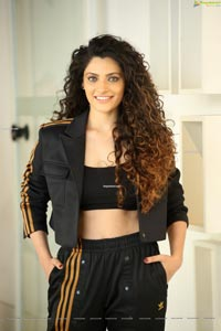 Saiyami Kher at Wild Dog Movie Interview