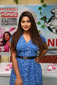 Shravani Varma at Café 555 Season's 1st Haleem Launch