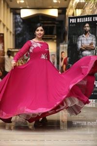Shyamala at Mosagallu Movie Pre-Release Event