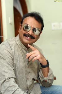 Sr. Naresh at Sreekaram Movie Interview