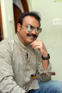Sr. Naresh at Sreekaram Movie Interview